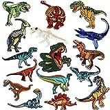 Parches Dinosaurios, Mwoot 16-PACK Parches De...