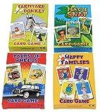Cuatro juegos de cartas para niños de la marca...
