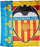 Valencia CF Badvcf Bandera, Blanco/Naranja, Talla...