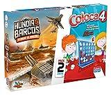 Falomir Coloca 4 + Hundir Barcos (Pack de Juegos...