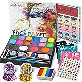 Jojoin 16 Colores Pinturas Cara, Pintura Facial,...