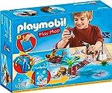 PLAYMOBIL- Play Map Piratas del Caribe Juguete,...