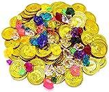 Monedas oro Juguete, ZoneYan Monedas de oro y...