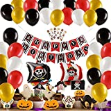Herefun 50 Piezas Pirata temática Decoraciones...