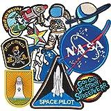 Patch Sticker, MUSCCCM 10Pcs Parches Aeroespacial...