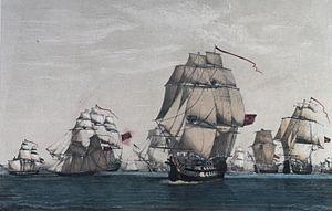 Acción Naval del 9 de Acción de 1780