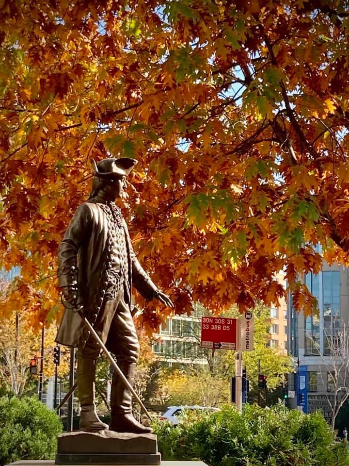 Estatua de Bernardo de Gálvez en Washington DC, Estados Unidos