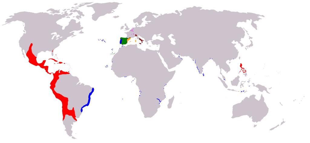 Imperio Español en la época de Felipe II