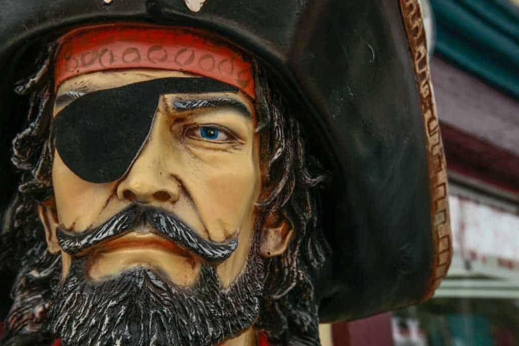 Portada Corsarios, Piratas, Bucaneros, Filibusteros 1