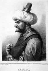 Retrato de Aruj Barbarroja