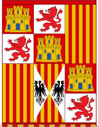 Bandera de los Reyes Católico, Isabel de Castilla y Fernando de Aragón