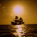 Barco filibustero en la lejania