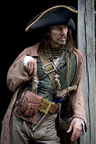 Un tipo pirata peligroso