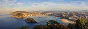 Población de San Sebastián en el País Vasco