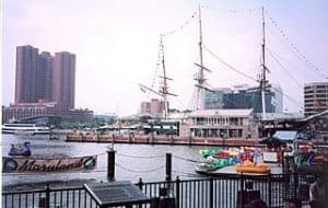 Puerto de Baltimore en Maryland