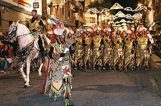 Desfile en Onteniente