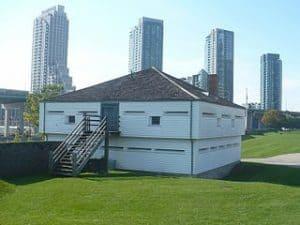 Fuerte Fort York en Canada