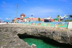 Vista de las islas Gran Cayman