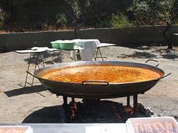 Paella en Almeria