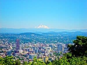 Población de Portland en Oregon