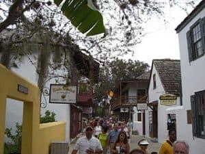 Población de San Agustin en Florida