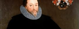 Retrato del corsario inglés Sir Francis Drake