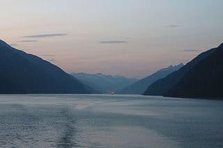 Bahía de los mares de Alaska
