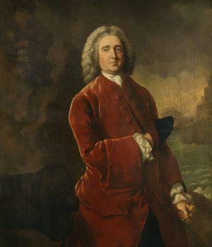 Vernon retrato en Cartagena de Indias