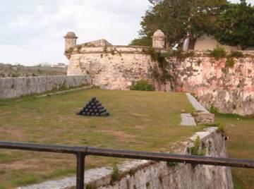 Fortaleza de Las Cabañas en la Habana, Cuba