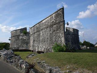 Fuerte Fincastele en Nassau