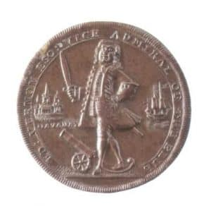 Moneda de Vernon, Cartagena de Indias