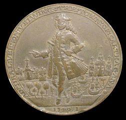 Moneda Vernon dirige a los ingleses