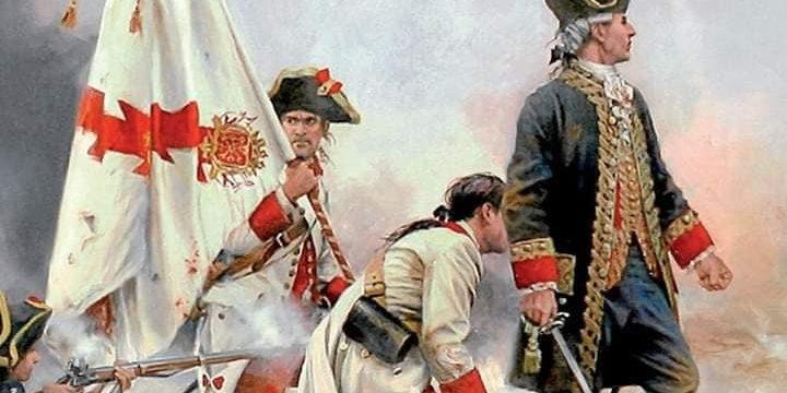 Bernardo de Gálvez y sus tropas