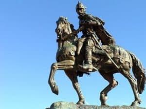 Estatua a caballo de Juan de Oñate