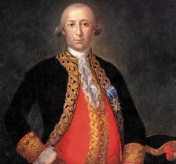 Retrato de Bernando de Gálvez, Virrei de Nueva España