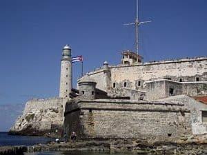 Castillo del Morro en La Habana de Cuba