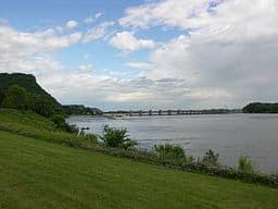 Río Mississippi y su cauce
