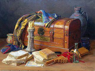 Baul y objetos antiguos