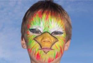 Niño maquillado