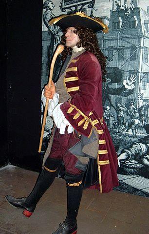 Maniqui de pirata elegante