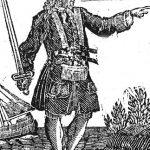 Dibujo del piratas Charles Vane