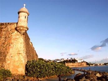 Fuerte del Morro en Puerto Rico