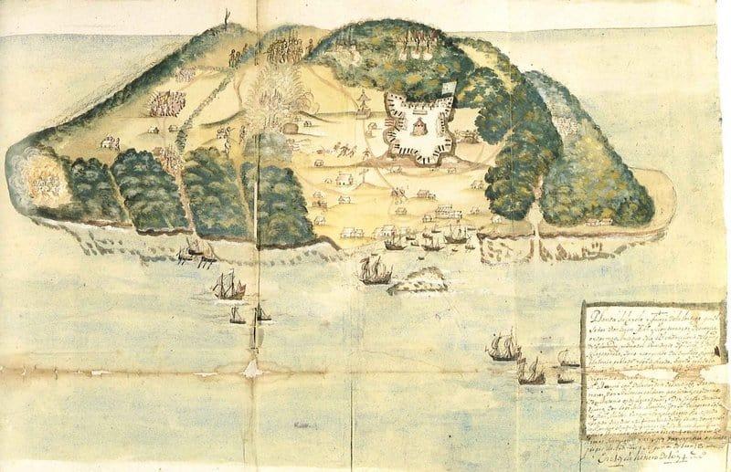Dibujo de Isla Tortuga