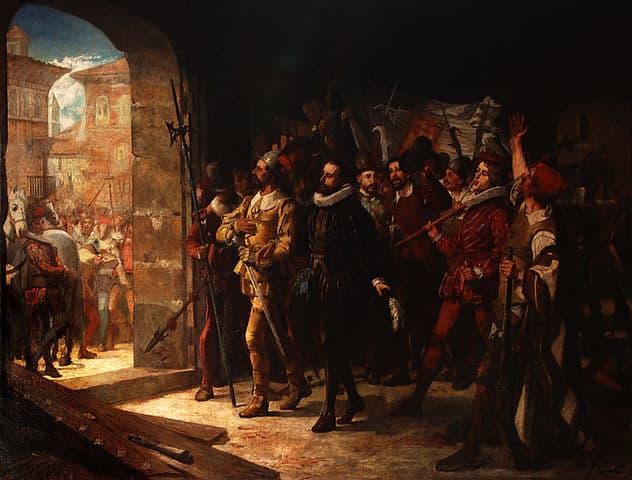 Antonio Perez del Hierro liberado en 1591