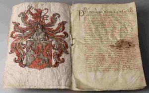 Carta de recompensa de Felipe II de España a Balthasar Gerards en 1590