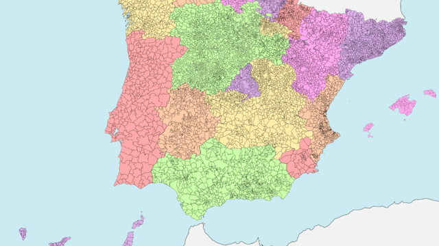 Mapa de España y comunidades