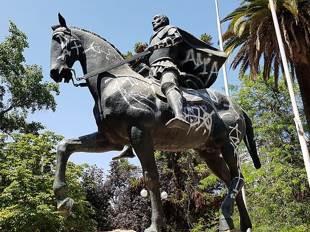 Estatua de Almagro, conquistador español