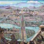 Tenochtitlan capital Azteca