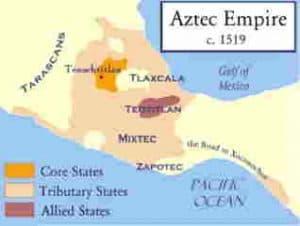 Territorio del Imperio Azteca