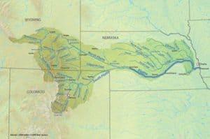 Rio Platter, tierra comanche